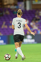 Orlando, FL - Saturday August 12, 2017: Christie Pearce during a regular season National Women's Soccer League (NWSL) match between the Orlando Pride and Sky Blue FC at Orlando City Stadium.