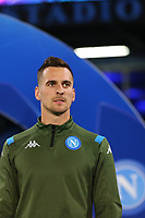 Arkadiusz Milik of Napoli<br /> Napoli 05-11-2019 Stadio San Paolo <br /> Football Champions League 2019/2020 Group E<br /> SSC Napoli - FC Salzburg<br /> Photo Cesare Purini / Insidefoto