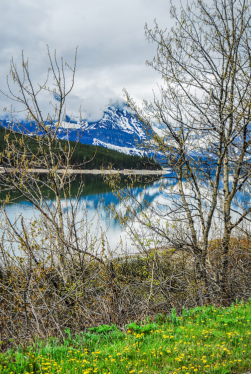Lower St. Mary Lake Blackfeet Reservation