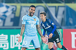 Jiangsu FC Forward Alex Teixeira reacts during the AFC Champions League 2017 Group H match between Jiangsu FC (CHN) vs vs Gamba Osaka (JPN) at the Nanjing Olympics Sports Center on 11 April 2017 in Nanjing, China. Photo by Yu Chun Christopher Wong / Power Sport Images