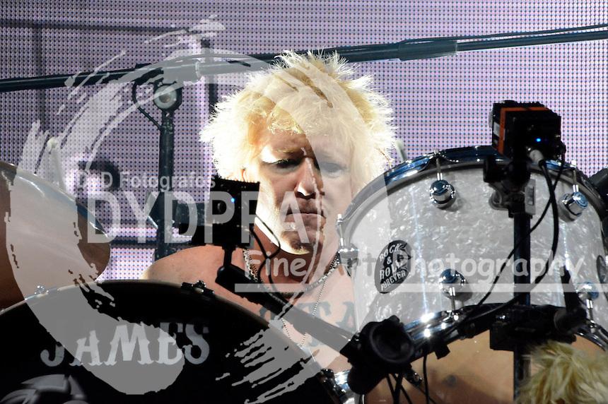 James Kottak von den Scorpions bei einem Konzert der 50th Anniversary - World Tour 2016 in der Westfalenhalle 1. Dortmund, 18.03.2016