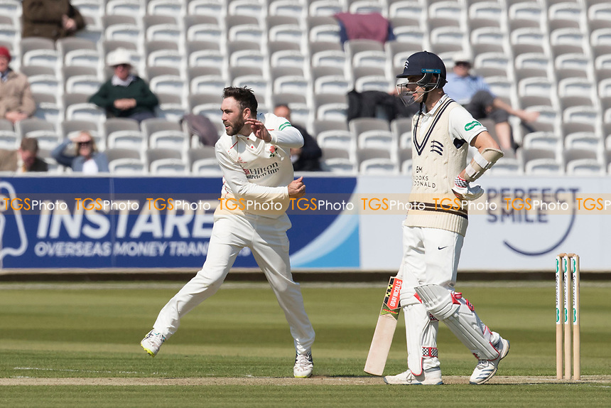 Glenn Maxwell of Lancashire CCC in action during Middlesex CCC vs Lancashire CCC, Specsavers County Championship Division 2 Cricket at Lord's Cricket Ground on 11th April 2019