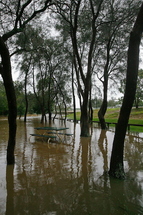 Bulimba Creek, near Meadowlands Road, Carindale, Brisbane, Queensland, Australia, Wednesday, January 25, 2012. (Photo by John Pryke)