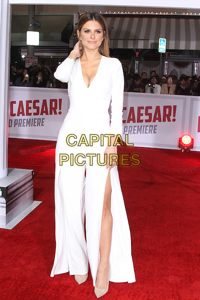 WESTWOOD, CA - FEBRUARY 1: Maria Menounos at the premiere of Universal Pictures' &quot;Hail, Caesar!&quot; at The Mosaic Hotel on February 01, 2016. <br /> CAP/MPI22<br /> &copy;MPI22/Capital Pictures