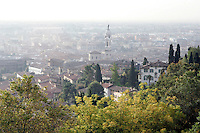 Veduta di Bergamo Bassa, dalla città' alta.<br /> Cityscape of Bergamo from the upper town.<br /> UPDATE IMAGES PRESS/Riccardo De Luca
