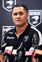 New Zealand Kiwis coach David Kidwell during a Rugby League World Cup press conference to annouunce the NZ Kiwis squad for the RLWC 2017. Auckland, New Zealand. Thursday 5 October 2017 © Copyright Photo: Andrew Cornaga / www.Photosport.nz copyright picture SWpix.com/Photosport NZ