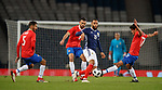 23.3.2018: Scotland v Costa Rica:<br /> Matt Phillips with Ceslo Borges, Giancarlo Gonzalez and Yeltsin Tejeda