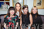 Enjoying the night out in Cassidys <br /> Seated l-r, Mary Toohey, Seline Switzer, Miriam Moriarty Owens and Martha Keane,