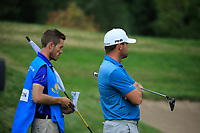 Liam Johnston (SCO) during the third round of the Kazakhstan Open presented by ERG played at Zhailjau Golf Resort, Almaty, Kazakhstan. 15/09/2018<br /> Picture: Golffile | Phil Inglis<br /> <br /> All photo usage must carry mandatory copyright credit (&copy; Golffile | Phil Inglis)
