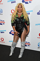 Stefflon Don<br /> in the press room for the Capital Summertime Ball 2018 at Wembley Arena, London<br /> <br /> ©Ash Knotek  D3407  09/06/2018