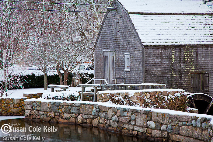 Dexter's Gristmill in Sandwich, Cape Cod, MA, USA