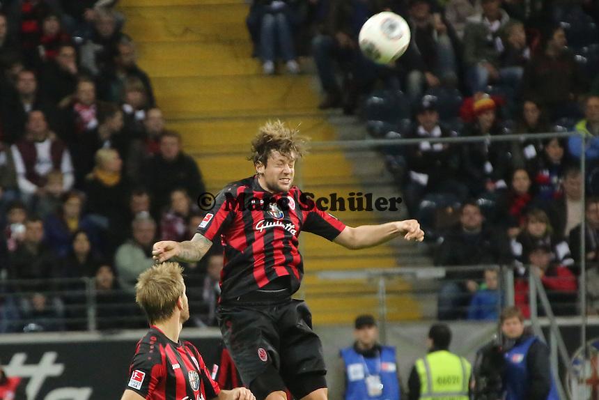 Marco Russ (Eintracht) - Eintracht Frankfurt vs. VfL Wolfsburg, Commerzbank Arena
