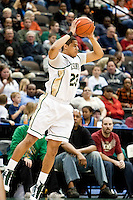 February 25, 2010:     Jacksonville forward Tevin Galvin (23) during Atlantic Sun Conference action between the Jacksonville Dolphins and the Campbell Camels at Veterans Memorial Arena in Jacksonville, Florida.  Jacksonville defeated Campbell 65-52.
