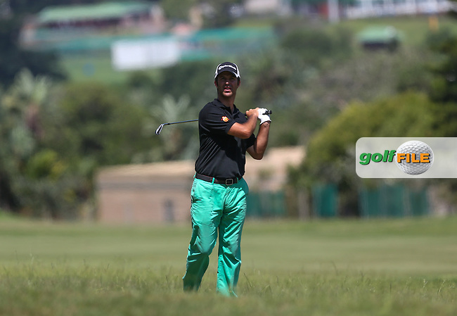 Jorge Campillo (ESP) plays out of the rough on 14 during Round Three of The Africa Open 2014 at the East London Golf Club, Eastern Cape, South Africa. Picture:  David Lloyd / www.golffile.ie