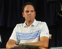 NEW YORK, NY - July 23:  Mike Piaza attends a pre-induction press conference on July 23, 2016 in Cooperstown, New York.  Photo Credit:John Palmer/ MediaPunch.