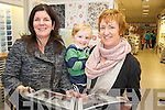 Interior designer Ruth O'Grady pictured with Regina and Evan Byrne, Killorglin, at the Celebrate your Home? Winter Event held in Boyles, Killorglin on Saturday. ..PR SHOT...NO FEE .