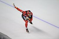 SCHAATSEN: Calgary: Essent ISU World Sprint Speedskating Championships, 28-01-2012, 1000m Heren, Denny Ihle (GER), ©foto Martin de Jong
