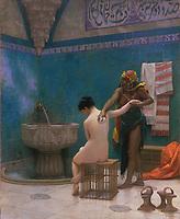 le bain par Jean-Leon Gerome
