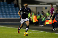 James Meredith of Millwall during the Sky Bet Championship match between Millwall and Sheff Wednesday at The Den, London, England on 20 February 2018. Photo by Carlton Myrie.