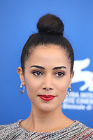 Nadia Kounda attends the 'Controfigura' photocall during the 74th Venice Film Festival at Sala Casino on September 8, 2017 in Venice, Italy. <br /> CAP/GOL<br /> &copy;GOL/Capital Pictures