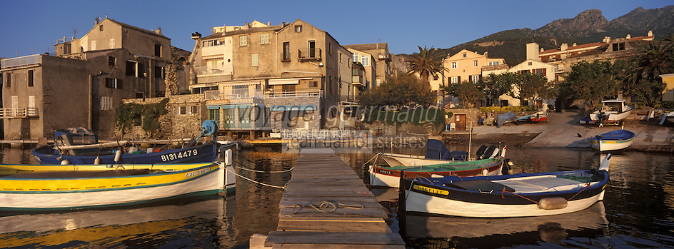 Europe/France/Corse/2B/Haute-Corse/Cap Corse/Erbalunga: Le port