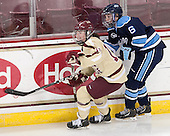 Ashley Motherwell (BC - 18), Brittney Huneke (Maine - 6) - The Boston College Eagles defeated the visiting University of Maine Black Bears 10-0 on Saturday, December 1, 2012, at Kelley Rink in Conte Forum in Chestnut Hill, Massachusetts.