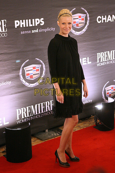 GWYNETH PALTROW.The 13th Annual Premiere Women In Hollywood held at the Beverly Hills Hotel, Beverly Hills, California, USA..September 20th, 2006.Ref: ADM/ZL.full length black dress.www.capitalpictures.com.sales@capitalpictures.com.©Zach Lipp/AdMedia/Capital Pictures.