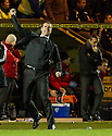 AYR UNITED MANAGER BRIAN REID AT THE END OF THE GAME