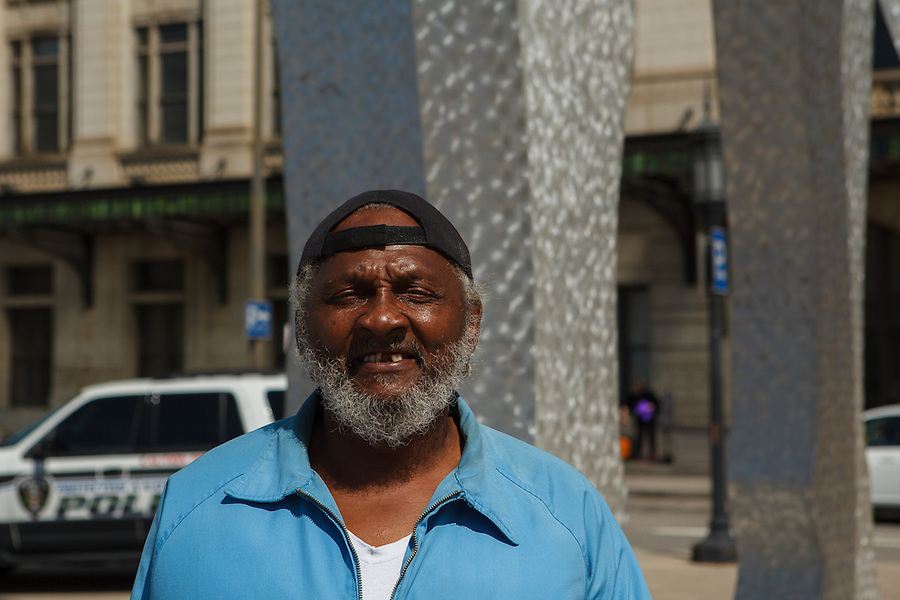 Penn Station in Baltimore is the 8th busiest train depot in the country. A homeless man who called himself Tyronne wanted to be photographed after I told him I take pictures and write about people. We also shared common stories about living with epilepsy.