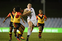 Emma Slowe, England v Papua New Guinea - Women's Rugby League World Cup match at Southern Cross Group Stadium, Sydney, Australia on 16 November 2017.<br /> Copyright photo: Delly Carr / www.photosport.nz MANDATORY CREDIT/BYLINE : Delly Carr/SWpix.com/PhotosportNZ