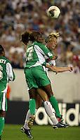 Abby Wambach, Florence Omagbemi 2003WWC USA Nigeria