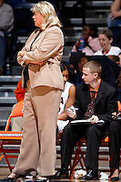 SAN ANTONIO, TX - NOVEMBER 29, 2008: The Arkansas State University Red Wolves vs. The University of Texas at San Antonio Roadrunners Women's Basketball at the UTSA Convocation Center. (Photo by Jeff Huehn)
