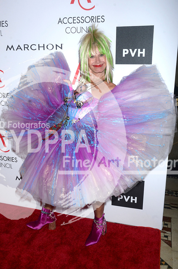 Betsey Johnson bei der Verleihung der 21. Ace Awards 2017 im Cipriani 42nd Street. New York, 07.08.2017