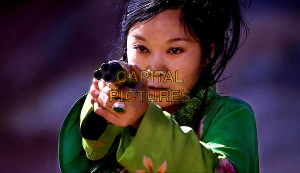 YAN NI.in A Simple Noodle Story.(San qiang pai an jing qi).(A Woman, a Gun and a Noodle Shop).(The First Gun).*Filmstill - Editorial Use Only*.CAP/FB.Supplied by Capital Pictures.