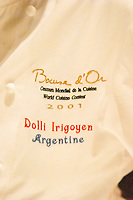 Dolly Irigoyen, famous chef and TV Presenter The Dolly Irigoyen - famous chef and TV presenter - private restaurant, Buenos Aires Argentina, South America Espacio Dolli