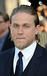 "Charlie Hunnam arriving to the Los Angeles premiere of ""Pacific Rim"" held at the Dolby Theater on July 9, 2013."