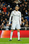 Real Madrid´s Karim Benzema during 2014-15 La Liga match between Real Madrid and Levante UD at Santiago Bernabeu stadium in Madrid, Spain. March 15, 2015. (ALTERPHOTOS/Luis Fernandez)