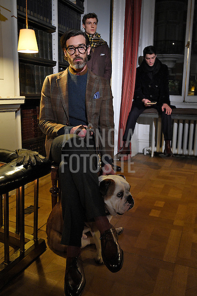 Dunhill <br /> <br /> Londres Masculino - Inverno 2016<br /> <br /> <br /> foto: FOTOSITE