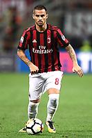 Milano 27-08-2017 Stadio Giuseppe Meazza in San Siro Calcio Serie A 2017/2018 Milan - Cagliari Foto Imagesport/Insidefoto <br /> nella foto: Suso