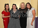 Natalie Kelly, Loretta Ward, Eleanor kelly and Siobhan Costello at the Team Carrie annual dinner and presentation night. Photo:Colin Bell/pressphotos.ie