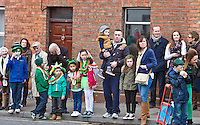 George Street Full crop with Dom Gradwell St Patricks Day Parade route from George Street through Fair Street Peter Street Shop Street and ending some where down along the North Quay