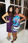 One Life To Live's Shenaz Treasury and Shennell Edmonds at Let's Celebrate - The Diva Gals Style Lounge on October 5, 2011 at Select Strands, New York City, New York. DivaGalsDaily.com is the premier website inspiring DivaGals around the globe to celebrate evry living moment in a savvy, sophisticated and social way.  (Photo by Sue Coflin/Max Photos)