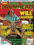 Will Calhoun in Drumhead Magazine (July/August 2015)