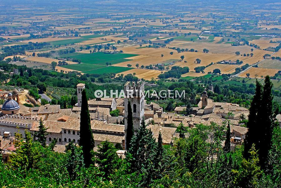 Cidade medieval Assis. Umbria. Itália. 2006. Foto de Luciana Whitaker.