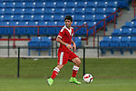 09 January 2015: Adrian Antonio Reta (ARG). The 2015 MLS Player Combine was held on the cricket oval at Central Broward Regional Park in Lauderhill, Florida.