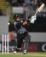 Ross Taylor.<br /> New Zealand Black Caps v Australia.Tri-Series International Twenty20 cricket final. Eden Park, Auckland, New Zealand. Wednesday 21 February 2018. &copy; Copyright Photo: Andrew Cornaga / www.Photosport.nz