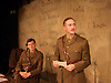 Not About Heroes <br /> by Stephen MacDonald <br /> directed by Caroline Clegg <br /> at Trafalgar Studios, London, Great Britain <br /> press photocall <br /> 10th November 2014 <br /> <br /> Simon Jenkins as Wilfred Owen - right <br /> <br /> Alasdair Craig as Siegfried Sassoon<br /> <br /> Photograph by Elliott Franks <br /> Image licensed to Elliott Franks Photography Services