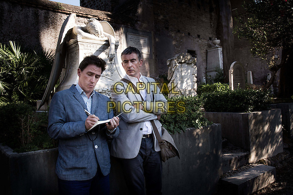 Rob Brydon, Steve Coogan<br /> in The Trip to Italy (2014) <br /> *Filmstill - Editorial Use Only*<br /> CAP/NFS<br /> Please credit: Courtesy of Sundance Institute/Capital Pictures