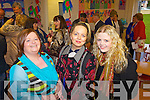 Staff members Noirin Buckley and Elvina McDermott with Rebecca Kiely pictured at the official opening of the new extension to Scoil Chorp Chri?ost in Knockanure last Friday night.