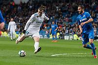 Real Madrid Gareth Bale Getafe Sergio Mora during La Liga match between Real Madrid and Getafe CF  at Santiago Bernabeu Stadium in Madrid , Spain. March 03, 2018. (ALTERPHOTOS/Borja B.Hojas) /NortePhoto.com NORTEPHOTOMEXICO